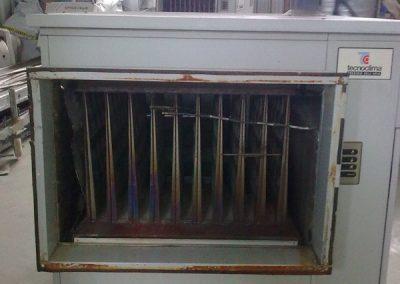 Generator de aer cald (aeroterma) cu functionare cu gaz metan UTK46