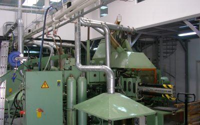 Racire evaporativa (adiabatica) hala industriala ELTEC